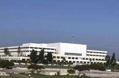 سینیٹ قائمہ کمیٹی برائے مکانات اور تعمیرات کا اجلاس، وزارت اور ماتحت ..