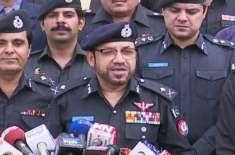 12ربیع الاوّل سیکیورٹی اقدامات میں بذاتِ خود مانیٹرنگ کرونگا،آئی جی ..
