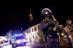 فرانس کے شہر اسٹراس برگ میں واقع کرسمس مارکیٹ کے قریب فائرنگ کے نتیجے ..
