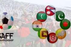ساف کپ کیلئے 20 رکنی قومی فٹ بال سکواڈ کا اعلان کر دیا گیا