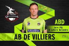 AB de Villiers excited to be a part of Qalandars