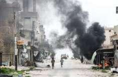 شام میں اتحادی فوج کے حملوں میں 3300 عام شہری جاں بحق