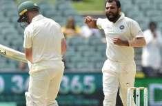 آسٹریلیا اور بھارت کی کرکٹ ٹیموں کے درمیان دوسرا ٹیسٹ میچ 14 دسمبر ..