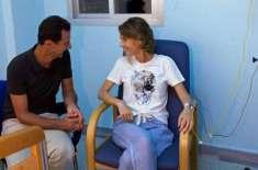 شامی خاتون اول چھاتی کے سرطان میں مبتلا ہو گئیں،