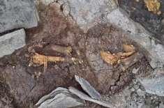 سب سے قدیم انسان کی ہڈیاں ساڑھی10ہزار سال پرانی