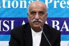 خورشید شاہ کو اچانک دل کی تکلیف،دورہ بلوچستان