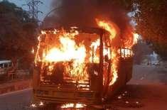 زمبابوے ،مسافر بس میں اچانک آگ بھڑک اٹھی، 42 افراد ہلاک،20زخمی