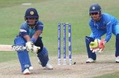 ْویمن کرکٹ، سری لنکا اور بھارت کے درمیان دوسرا ٹی ٹونٹی انٹرنیشنل میچ ..