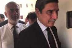 فلیگ شپ، خواجہ حارث کی پیر کو دلائل مکمل کرنیکی یقین دہانی