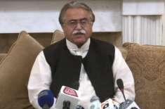 عمران خان کو سندھ میں لاکھوں عوام نظرنہیں آرہی:مولابخش چانڈیو