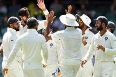 آسٹریلیا اور بھارتی کھلاڑیوں نے ایڈیلیڈ ٹیسٹ میں زیادہ کیچز تھام ..