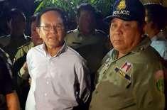 کمبوڈیائی اپوزیشن لیڈر کی سکیورٹی پر 500 سکیورٹی اہلکار تعینات
