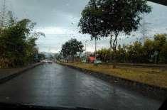 پنجاب اور خیبرپختونخوا کے مختلف علاقوں میں بارش کے بعد سردی کی شدت ..