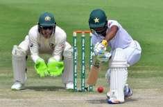 ابو ظہبی ٹیسٹ ،پاکستان نے چائے کے وقفے پر 5وکٹوں پر350 رنز بنا لیے