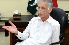 وزیردفاع پرویزخٹک سے تاجکستان کے وزیردفاع جنرل شیر علی میرزو کی ملاقات
