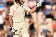 چوتھا ٹیسٹ، انگلینڈ نے بھارت کیخلاف دوسری اننگز میں 8 وکٹوں پر 260 رنز ..