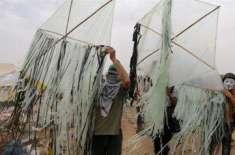 آتش گیر کاغذی جہازاورگیسی غبارے چھوڑنے پر اسرائیل سیخ پا ،پابندیاں ..