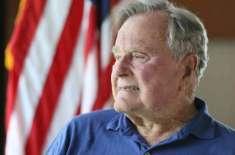 سابق امریکی صدر بش سنیئر94سال کی عمر میں انتقال کرگئے