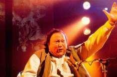 اپنی آوازاورسروں کا جادوجگانے والے نصرت فتح علی خان کی 70 ویں سالگرہ ..