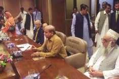 مسلم لیگ ن کے پارلیمانی اجلاس میں بڑا فیصلہ