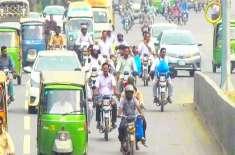 بغیر ہیلمٹ کے موٹر سائیکل کا لاہور میں داخلہ ممنوع قرار