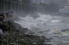 ہانگ کانگ میں منگکھوٹ طوفان سے تباہی کے بعد وسیع پیمانے پر کلین اپ آپریشن ..