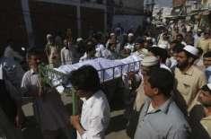 فیصل آباد،پولیس مقابلہ میں دونوں طلباء ایک ہی گولی سے جاں بحق ہوئے،پوسٹ ..