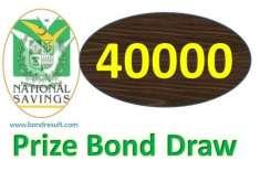 40000روپے کے قومی انعامی بانڈز کی قر عہ اندازی 3دسمبرکو کوئٹہ میں ہو گی