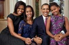سابق امریکی صدر اوباما کی بیٹیوں کی پیدائش مصنوعی طریقے سے ہونے کا ..