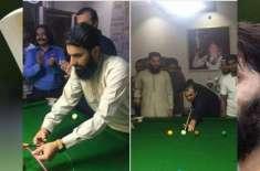 misbah ul haq loves snooker