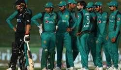 پاکستان اور نیوزی لینڈ کی ٹیمیں فیصلہ کن ون ڈے انٹرنیشنل میچ میں کل ..