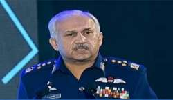 پاک فضائیہ کے سربراہ ائیر چیف مارشل مجاہد انور خان کی برمنگھم میں برٹش ..
