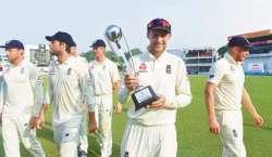 انگلش ٹیم 56 برس بعد دیار غیر میں ٹیسٹ سیریز کلین سوئپ کرنے میں کامیاب