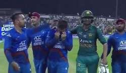 ایشیاءکپ ،پاکستان سے ہا رنے افغان کھلاڑیوں کو رلا دیا