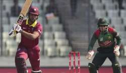 بنگلہ دیش اور ویسٹ انڈیز کی ٹیمیں دوسرے ٹی ٹونٹی انٹرنیشنل میچ میں ..