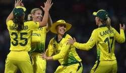 آسٹریلیا اور انگینڈ کی کرکٹ ٹیموں کے درمیان ویمنز ورلڈ ٹی ٹونٹی کپ ..