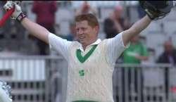 ڈبلن کے تاریخی ٹیسٹ میچ میں آئرلینڈ نے پاکستانی ٹیم کو 440 وولٹ کا تگڑا ..