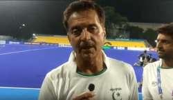 اولمپیئن حسن سردار نے قومی ہاکی ٹیم کی کوچ کی حیثیت سے ذمہ داریاں سنبھال ..