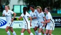 نیوزی لینڈ کا خواتین فٹ بالرز کو مرد کھلاڑیوں کے برابر معاوضے دینے ..