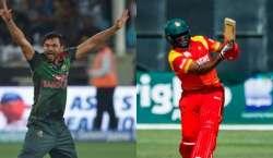 بنگلہ دیش اور زمبابوے کی ٹیمیں دوسرے ون ڈے انٹرنیشنل میچ میں کل آمنے ..