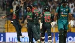 پاکستان بنگلہ دیش کیخلاف ناکامیوں کا بھوت اتارنے میں ناکام