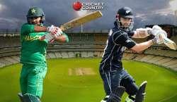 پاکستان نے نیوزی لینڈ کو 6 وکٹوں سے شکست دے کر سریز 1-1 سے برابر کر دی ..