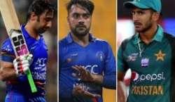 میچ میں نامناسب رویے پر پاکستانی، افغان کھلاڑیوں کو جرمانے