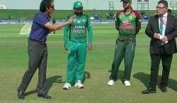 ایشیاءکپ ، بنگلہ دیش نے پاکستان کیخلاف ٹاس جیت لیا