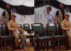 شہباز شریف کی چنیوٹ میں اسٹیج پر اکیلے بیٹھے تصویر پر ن لیگی رہنما نے ..