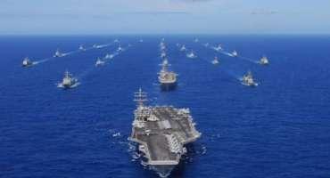 ہمارا جنگی بحری جہاز آبنائے تائیوان میں داخل ہو سکتا ہے، امریکی نیوی