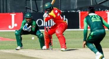پاکستان اور زمبابوے کے درمیان سیریز کا پہلا ایک روزہ میچ 30 اکتوبر کو ..