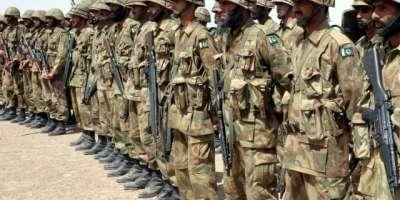 پاکستان کی مسلح افواج کی عیدالاضحی کے موقع پر تمام پاکستانی بھائیوں ..