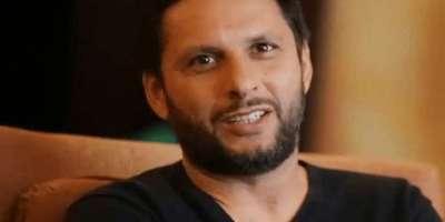 شاہد آفریدی نے سرفراز احمد سے ٹیسٹ ٹیم کی کپتانی واپس لینے کا مطالبہ ..