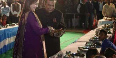 بھارت: مہنگی ترین شادی کی تقریبات کل شروع ہونگی